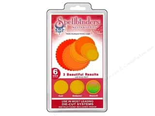 Spellbinders Nestabilities Petite Scalloped Circles Large