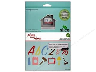 Dies Sewing Gifts: Slice Design Card Making Memories MS+ Home Sweet Home