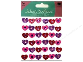 EK Success Valentine's Day Gifts: Jolee's Boutique Stickers Tween Gem Hearts
