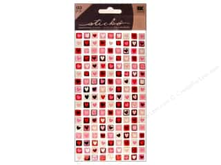 Valentines Day Gifts Stickers: EK Sticko Stickers Valentine Mini Stamps