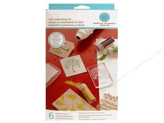 Weekly Specials Inkadinkado Stamping Gear: Martha Stewart Tools Heat Embossing Kit