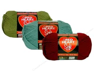 Red Heart Soft Yarn, SALE $3.79-$4.29.