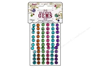 Darice Self Stick Gems 7mm Round Vibrant