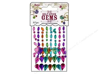 Darice Self Stick Gems Assorted Marquis Vibrant