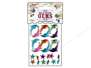 Darice Self Stick Gems Under The Sea Vibrant