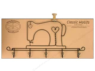 "Hooks Decorative Hooks: Ackfeld Accessory Holder 22"" Sewing Machine"