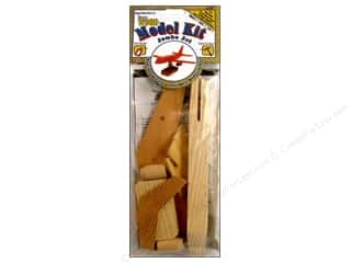 Woodworking Toys: Darice Wood Model Kit Jumbo Jet