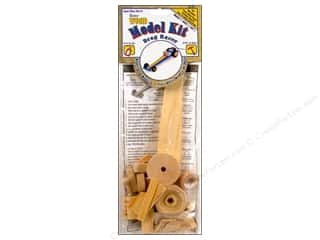 Woodworking Toys: Darice Wood Model Kit Drag Racer