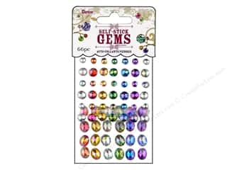 Darice Self Stick Gems Round/Oval Primary