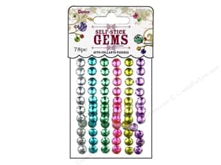 Darice Stick On Rhinestones Gems 7mm Rnd Ice Cream
