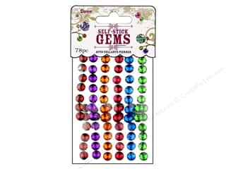 Darice Self Stick Gems 7mm Round Juicy Jewel