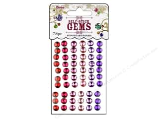 Rhinestones $6 - $25: Darice Stick On Rhinestones Gems 7mm Round Princess