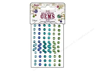 Darice Stick On Rhinestones Gems 5mm Rnd Go Green