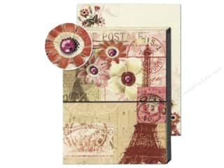 Punch Studio Pocket Note Pad Patchwork Paris