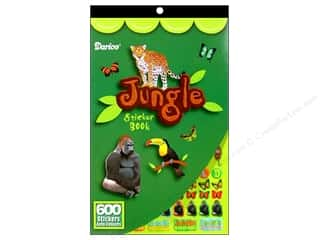 Darice Sticker Book Jungle Animals
