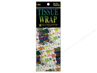 Wrap Birthdays: Printed Tissue Paper by Cindus 20 x 20 in. Birthday Star 4 pc.
