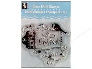 Inkadinkado Clear Stamp Mini You're Invited