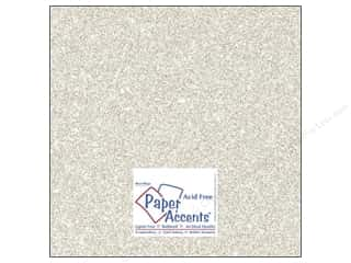 Cardstock 12 x 12 in. #5102 Glitz Silver/Champagne by Paper Accents