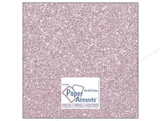 Stock Up Sale Sulyn Glitter: Cardstock 12 x 12 in. Glitz Silver/Petal Pink (25 sheets)
