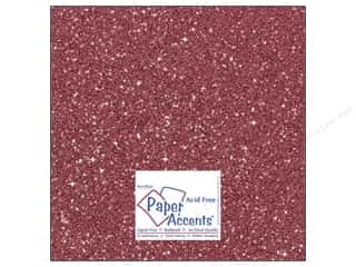 glitz cardstock: Cardstock 12 x 12 in. Glitz Silver/Crimson (25 sheets)