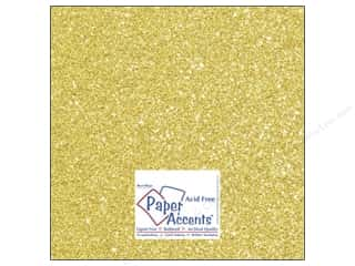Stock Up Sale Sulyn Glitter: Cardstock 12 x 12 in. Glitz Silver/Daffodil (25 sheets)