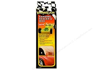 Rub-Ons Pinecar Kits & Accessories: PineCar Tool Sanding Sealer & Wax
