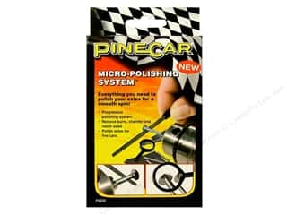 Pinecars Crafts with Kids: PineCar Tool Micro Polishing System