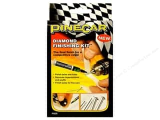 Pinecars Crafts with Kids: PineCar Tool Diamond Finishing Kit