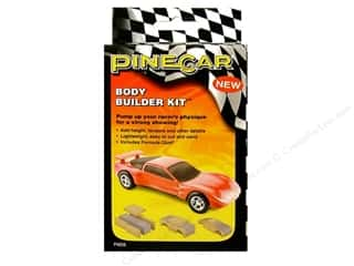 Pinecar Kits & Accessories Flowers: PineCar Kits Body Builder