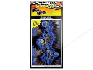 Decals Blue: PineCar Body Skin Transfer Psychedelic