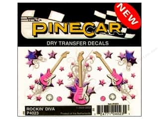 PineCar Decals Transfer Rockin Diva