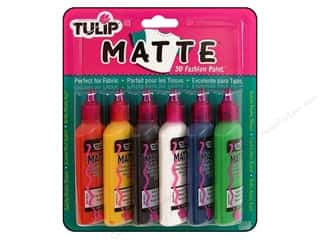 Tulip paint: Tulip 3D Fashion Paint Set Matte 6 pc.