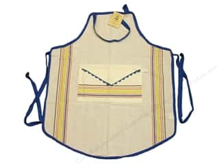 Aunt Martha&#39;s Aprons Vintage Bib Striped