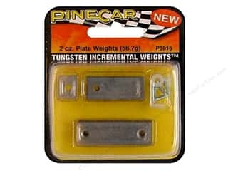 PineCar Weights Tungsten Plate 2oz
