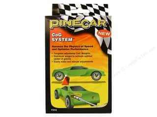 Pinecars 7 in: PineCar Weights Tungsten CoG System