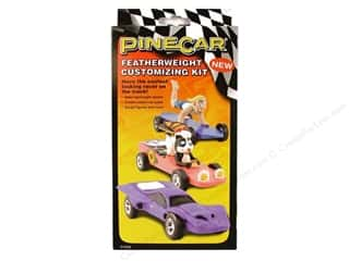 Clay Craft Kits: PineCar Kits Featherweight Customizing