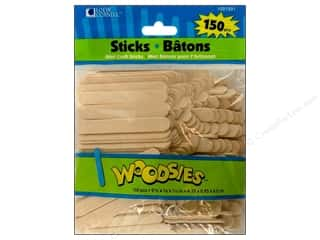 Forster Woodsies Craft Stick Minis 150pc