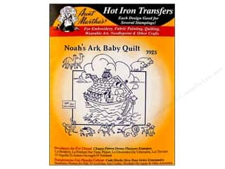 Aunt Martha&#39;s Hot Transfer Black Noah&#39;s Ark