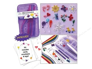 Quilling: Quilled Creations Quilling Kit Beginner Box