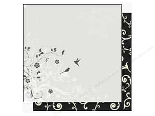Best Creation Paper 12x12 Mr &amp; Mrs Swirl &amp; Bird (25 sheets)
