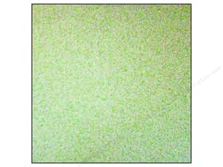 Best Creation 12 x 12 in. Cardstock Glitter Light Lime (15 sheets)