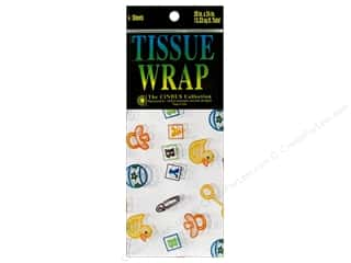 Cindus Tissue Wrap 20x20 Printed Baby 4pc