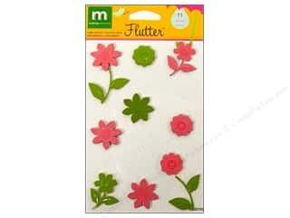 Sequins Making Memories Embellishments: Making Memories Stickers Metal Flowers Flutter