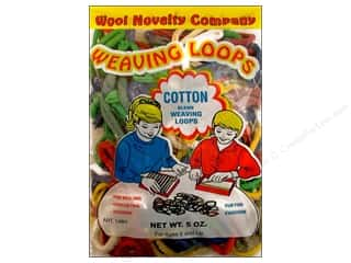 Looms: Wool Novelty Weaving Loops Cotton 5oz Package