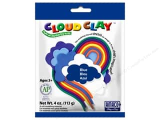 Clay & Modeling New: AMACO Cloud Clay 4 oz. Blue