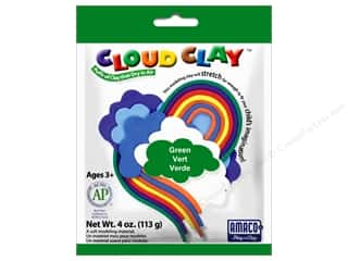Clay & Modeling New: AMACO Cloud Clay 4 oz. Green