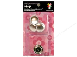 Magnets: Imaginisce i-top Magnet Daddies Shell 22mm 6pc