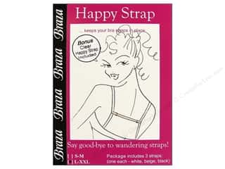 Straps / Strapping Braza Bra Accessories: Braza Happy Straps 4 pc. Large/Extra Large Assorted