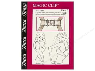Braza Strap Accessories Magic Clip C &amp; D Cup Clear