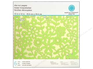 Martha Stewart Paper Packs 12x12 Die Cut Flower